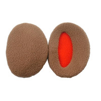 1Pair Man Solid Earbags Earmuffs Unisex Women New Ear Muff Bandless Fleece Ear Warmers Men Women