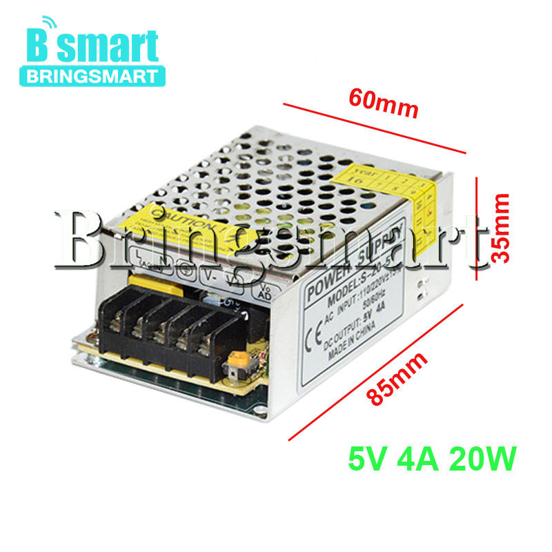Bringsmart Transformer DC Supply <font><b>500W</b></font> DC 12V 40A 5V 10A Power Adapter Input AC <font><b>110V</b></font> <font><b>220V</b></font> Output DC 5V 12V Voltage <font><b>Converter</b></font> image
