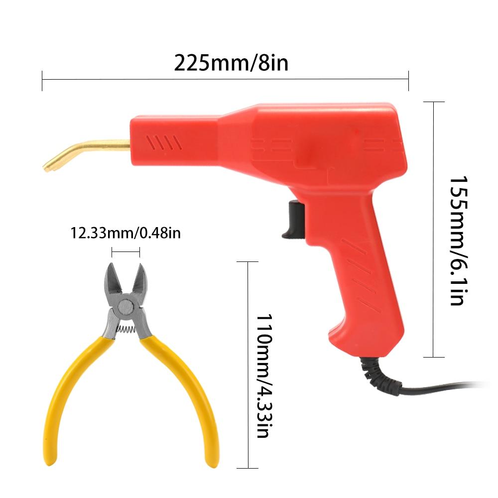 Image 4 - Handy Plastics Welder Garage Tools Hot Staplers Machine Staple PVC Repairing Machine Car Bumper Repairing Hot StaplerPlastic Welders   - AliExpress