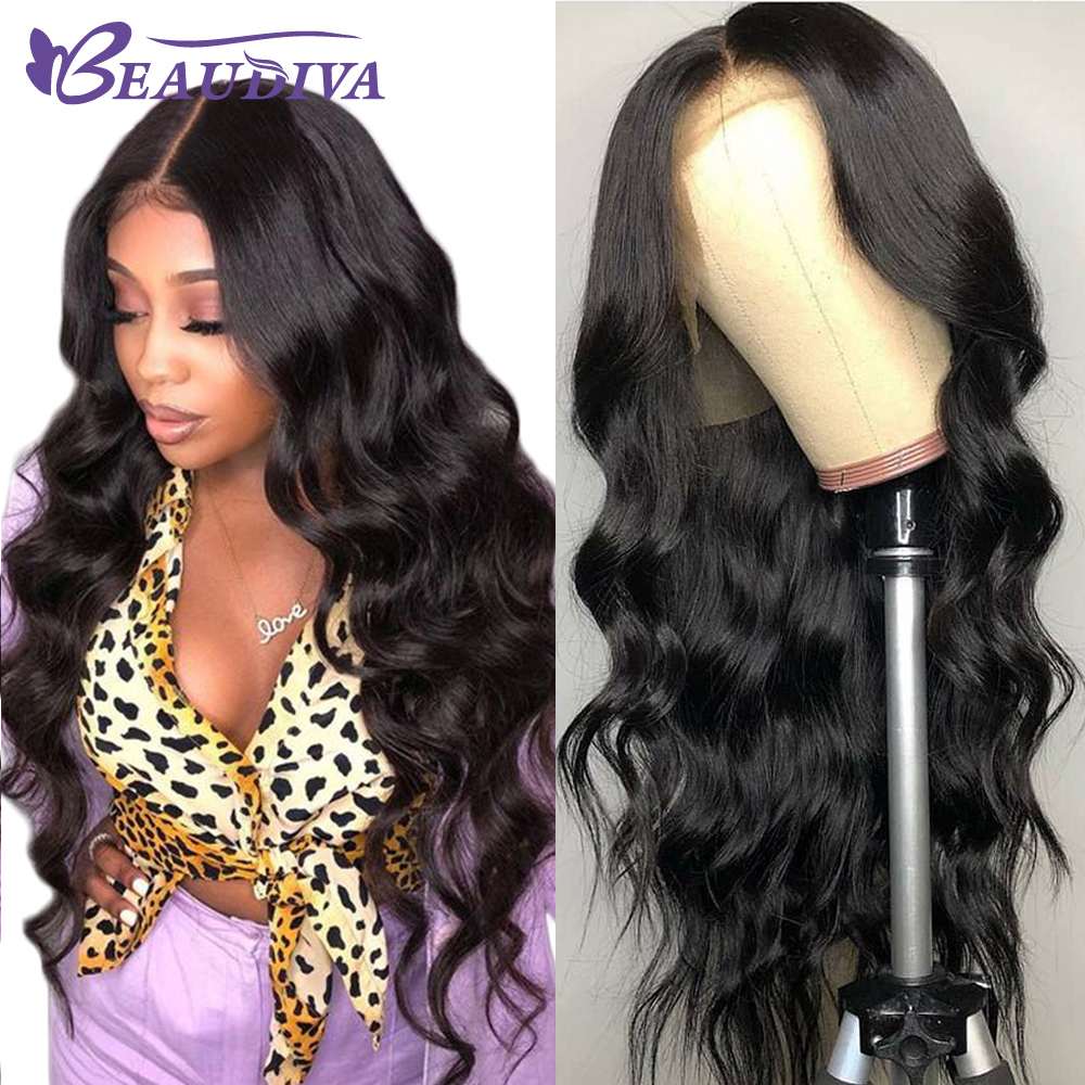 Brazilian Body Wave Lace Front Human Hair Wigs 13 4 Lace Front Wig Pre Plucked Hairline