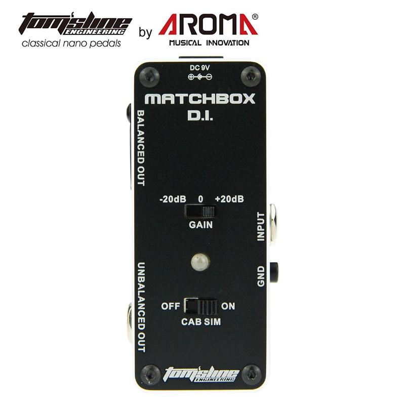 AROMA AMX-3 MATCHBOX D.I. Transfer Guitar Bass Signal Audio System Mini Analogue Effect pedals