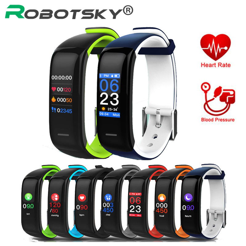 P1 Plus Smart Bracelet Heart Rate Monitor Blood Pressure