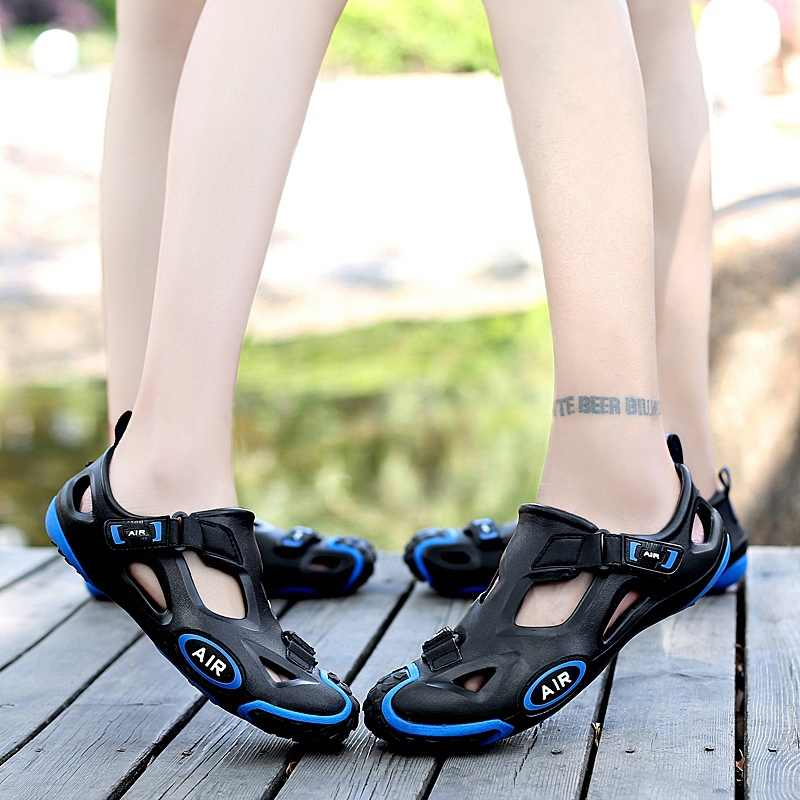 821eb3a1880be1 ... Outdoor Sport Women Water Aqua Shoes Breathable Rubber Anti-Slippery  Summer Beach Comfortable Sandals Shoes