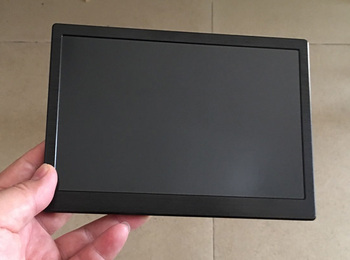 7 inch Portable display 1280*800 IPS LCD 550ccd Built-in speaker USB 5V Power Raspberry display