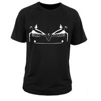 Футболка Alfa Romeo 159 короткий рукав мода лето Печать Повседневное простые футболки с короткими рукавами футболка camisetas hombre