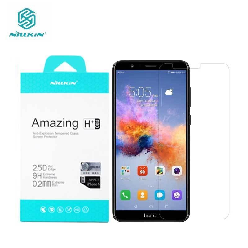 Nillkin Protecteur D'écran Pour L'honneur 7X Incroyable H + Pro 0.2 MM Huawei Honor 7X Trempé Verre Huawei Honor 7X verre