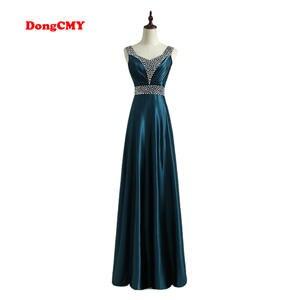 DongCMY 2018 long Evening Dress Robe de soiree Party Gown 7c1d261b3