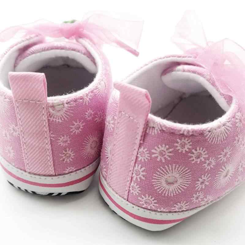 เด็กทารกเด็กทารกด้านล่างนุ่ม First Walkers 2018 รองเท้าเด็กเด็กเด็กผู้หญิงรองเท้ารองเท้าผ้าใบ Sapatos