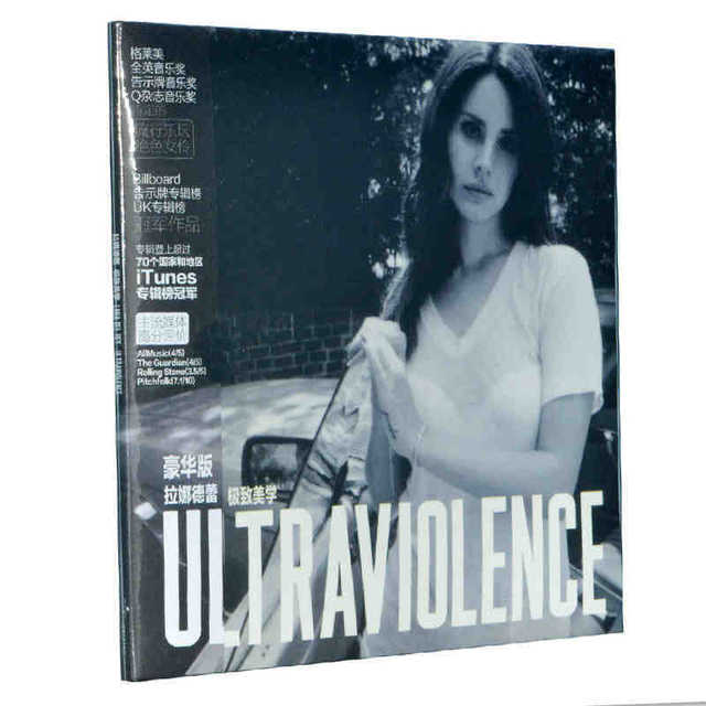 Lana Del Rey Ultraviolence Music Collection Complete Als 1cd Booklets Full Box Set Sealed Free Shipping
