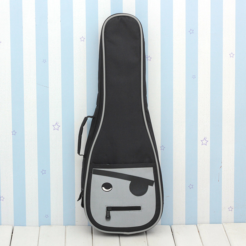 Ukulele Bag Case Backpack Handbag 10MM Thicken Cartoon Soprano Concert Tenor 21 23 26 Inch Ukelele Mini Guitar Accessories Gig
