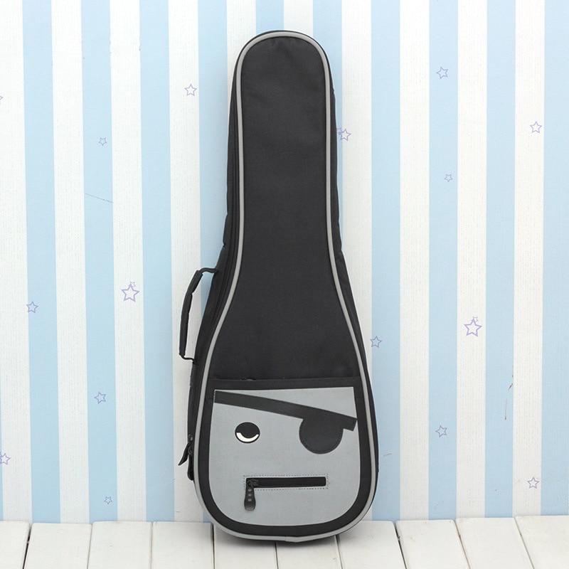 Creatief Ukulele Bag Case Rugzak Handtas 10 Mm Dikker Cartoon Sopraan Concert Tenor 21 23 26 Inch Ukelele Mini Gitaar Accessoires Gig