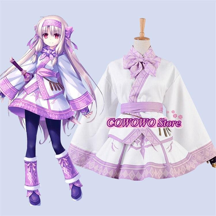 Anime! Fate/Grand Order FGO Sitonai Battle Suit Lovely Lolita Kimono Uniform Cosplay Costume For Women 2019 NEW Free Shipping