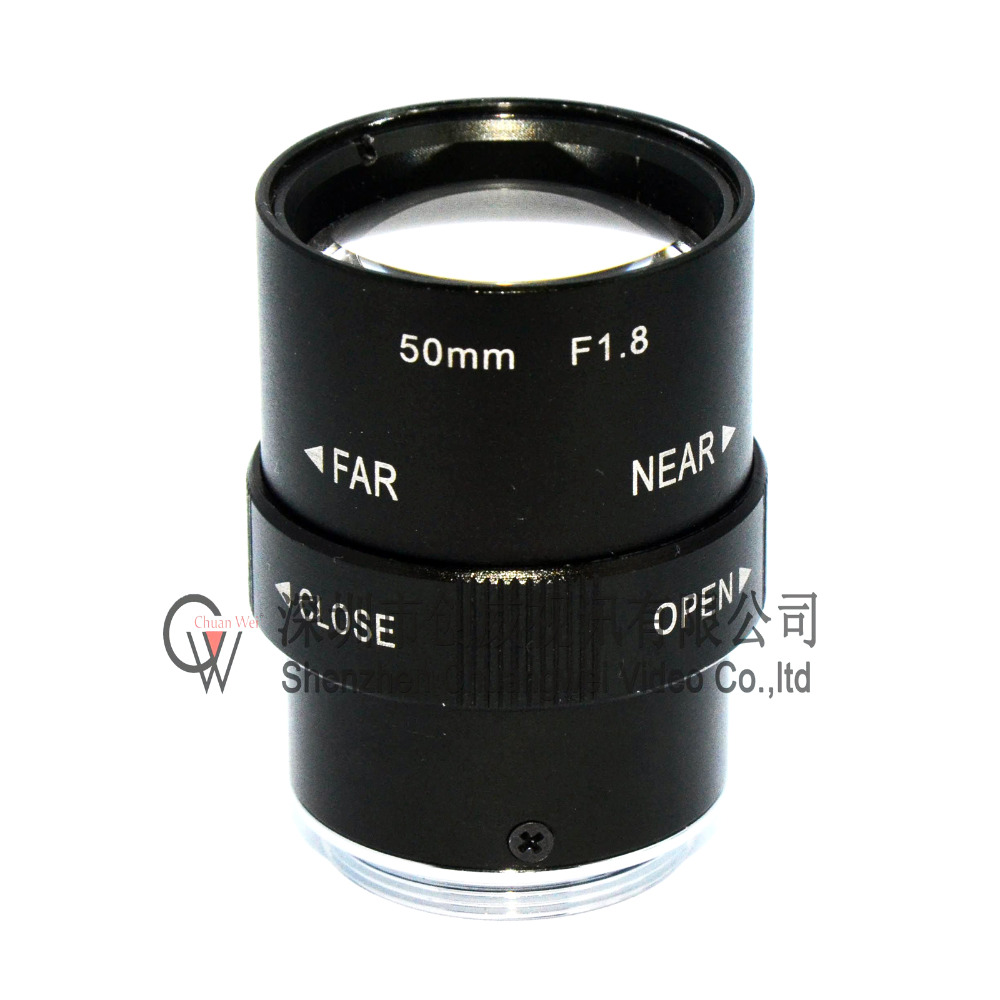 New Varifocal CCTV CS Lens 50mm lens with 1/2