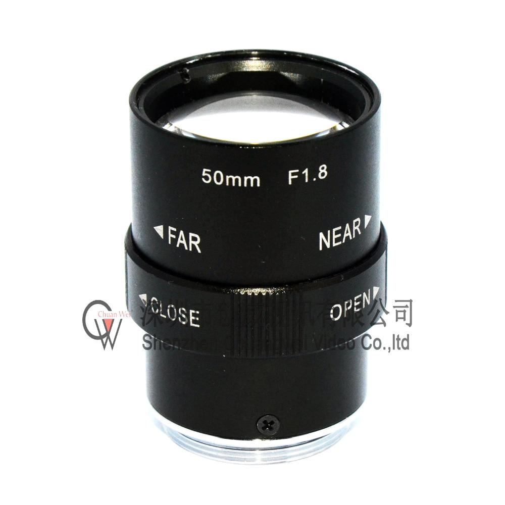 New Varifocal CCTV CS Lens 50mm with 1/2 CS Mount Lens for CCTV IP Camera Free Shipping wholesale cctv lens 12mm 26 2 degrees 1 2 5 3mp f1 4 fixed cs mount mega lens 1080p hd cctv lens for cctv camera