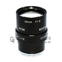 New Varifocal CCTV CS Lens 50mm with 1/2″ CS Mount Lens for CCTV IP Camera Free Shipping