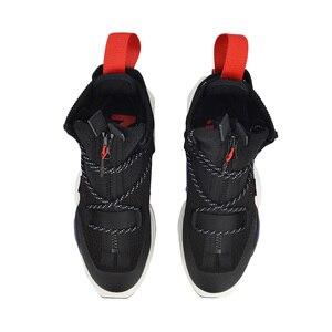 Image 5 - Vợt Cầu Lông Li Ning Unisex Nyfw Reburn Bóng Rổ Giải Trí Giày Đeo Xẻ Cao Lót Lý Ninh Tập Thể Dục Thể Thao Sneakers AGBP038 XYL232