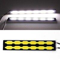 High Quality Led Light 640LM COB Drl Daytime Running Light DC12V Car Drl Front Lamp