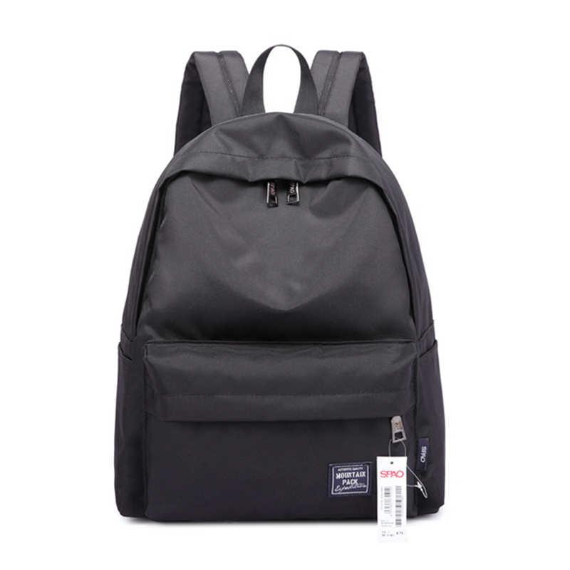 2019 Японский Элегантный дизайн женский рюкзак водонепроницаемый нейлоновый походный рюкзак, женский рюкзак для ноутбука для девочек-подростков женский рюкзак Mochila
