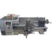 1PC WM210V Small bench lathe brushless motor lathe variable speed mini metal lathe machine 220V 850W
