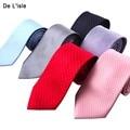 Jacquard de alta Calidad 100% Natural Corbata Corbata De Seda 8.5 cm Clásico Hecho A Mano Regalo de Boda de Los Hombres de Negocios