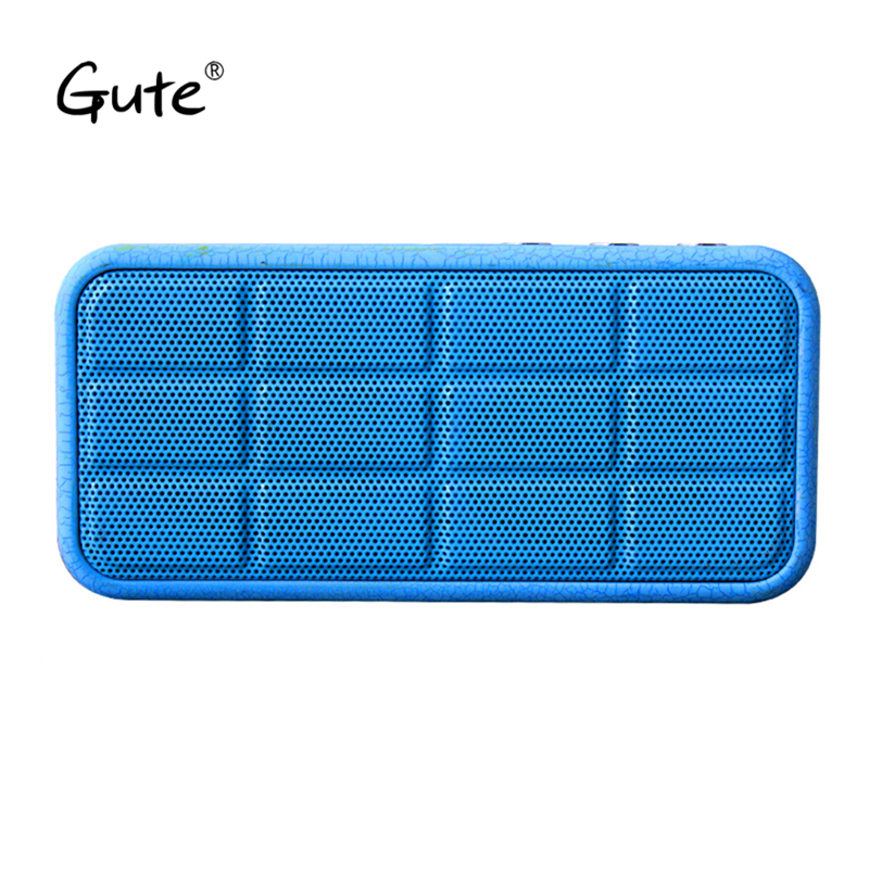 Gute mini square 2018 <font><b>bluetooth</b></font> speaker portable Crackle texture radio FM bass <font><b>radyo</b></font> aged Elderly caixa de som altavoz portatil