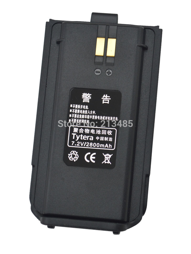Tytera MD-280 7.2V 2800mAh Li-ion Rechargeable Battery Pack Exclusively For TYT Tytera MD-280 DMR Digital Portable Two-way Radio