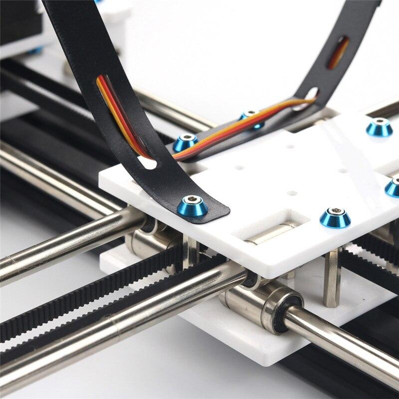 EleksMaker Mini XY 2 osie CNC Pen ploter DIY maszyna do rysowania laserowego drukarki 28*20cm dokładność grawerowania 0.1mm