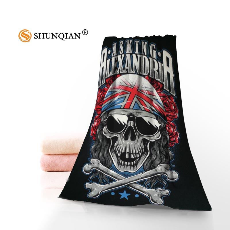 Bath Towels Touca de Banho Personalizado Crânio Toalhinha Moda Praia ... b8979651e63