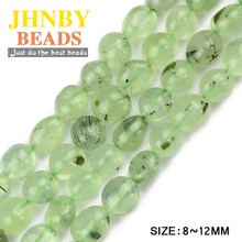 JHNBY Grape Crystal Irregular Gravel Chips beads High quality Smooth Nugget Natural Stone Jewelry bracelet making DIY Wholesale()