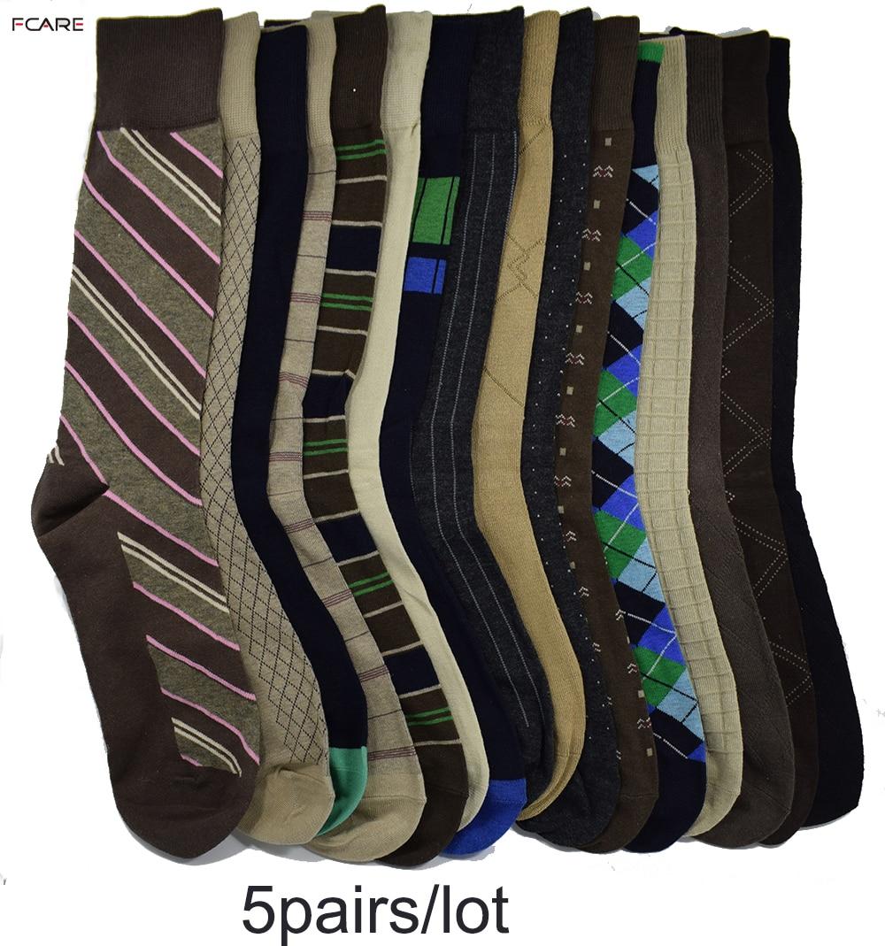 Носки Fcare мужские, 10 шт. = 5 пар, 44, 45, 46, 47 размера плюс|calcetines men|cotton sockscotton socks business | АлиЭкспресс