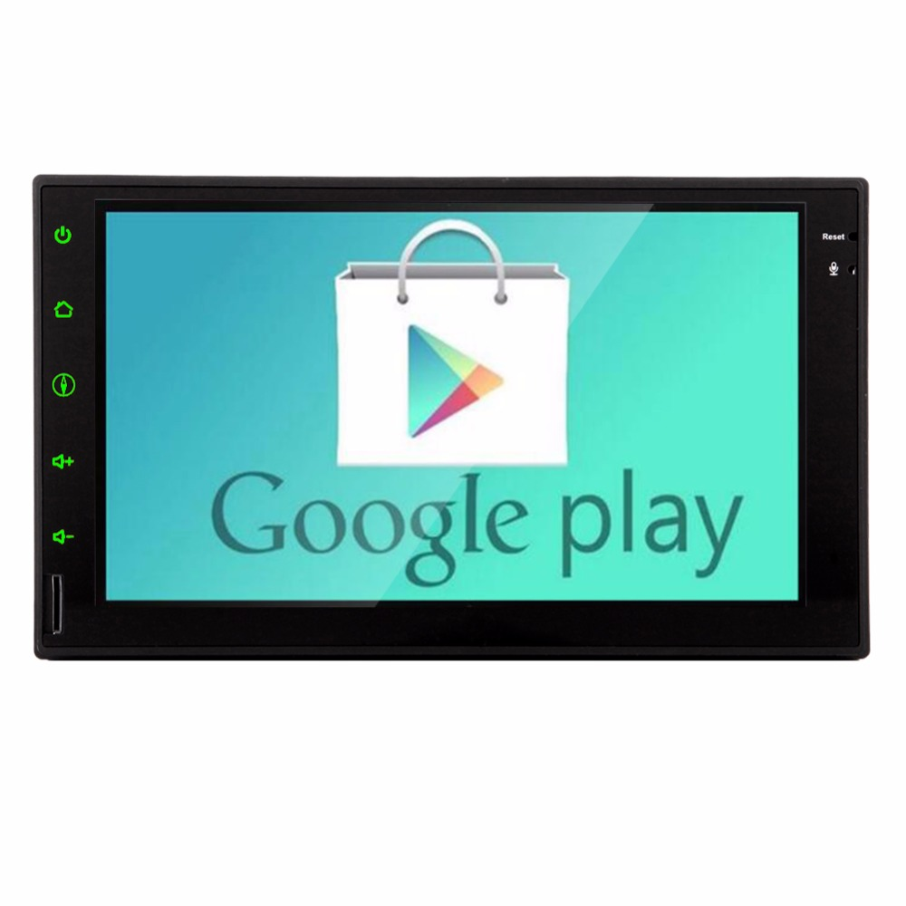 Universal Doble 2 Din Android 4.4 Car Electronics 7 ''Pantalla Táctil de Navegac
