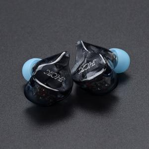 Image 3 - سماعة داخل الأذن من NICEHCK HK6/HK8 6/8BA مزودة بكابل صوت متوازن 6/8 قابلة للفصل سماعة رأس هاي فاي مخصصة