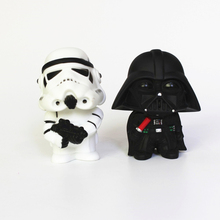 11cm Star Wars  Figure Action The Force Awakens Black Series Darth Vader Stormtrooper Model Toy For Kid's Gift Free Shipping