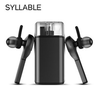 Original Syllable D9X TWS Bluetooth Wireless Earbuds Earphone Detachable Battery Earphones Portable Stereo Headset For Iphone