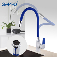 GAPPO Kitchen Sink Faucet Brass Kitchen Faucet Mixer Water Faucet Single Hole Kitchen Mixer Tap Tap