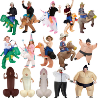 Halloween Costume Cosplay Inflatable Willy Adult Costumes Fancy Dress Dinosaur Unicorn Cowboy Anime Suit Disfraces Adultos