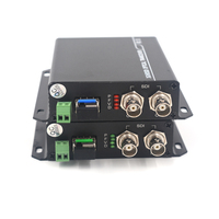 3G HD SDI Video/Audio/RS485 Data over Fiber optic Media Converters Transmitter Receiver single fiber 10Km SFP LC HD video