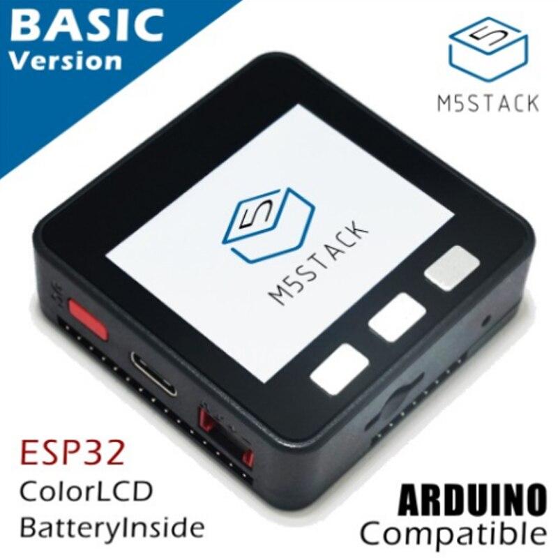Kit de développement de base de la série M5Stack ESP32, Micro-commande Extensible, carte Prototype Wifi Esp32 Ble IoT pour Arduino ZK15