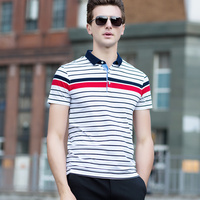 and the United States British shopkeeper leisure bigger sizes not less than 118 middle aged and old Polo shirt xz613