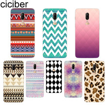 ciciber Leopard Phone Case For Oneplus 7 Pro 6 5 T Soft TPU Back Cover Clear Coque for 1+7 Pro 1+ 6 1+5 T Fundas Shell Capa