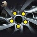 Para Hyundai ix25 Creta Rodas decoração parafuso da tampa do cubo Da Roda Hub Caps silicone Exterior produtos carro-styling acessório 2010-17