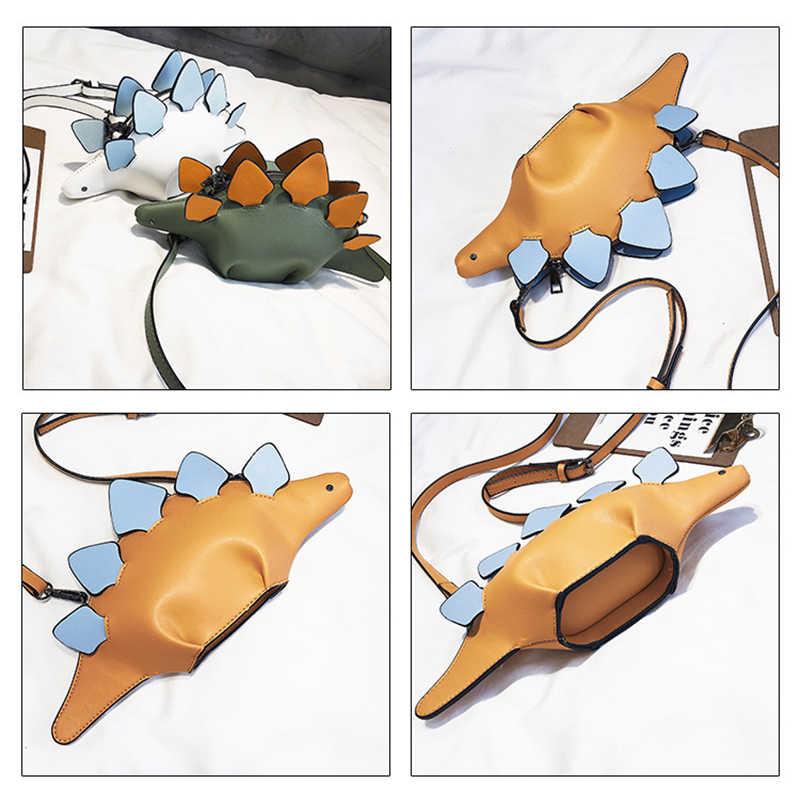 Модные женские туфли сумки на плечо кожа дамская сумочка с откидным верхом 3D динозавров животных сумка-мессенджер сумка женская через плечо сумки bolso mujer WBS604