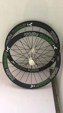 цена на UD 700C full carbon bike wheels basalt surface smart road bike wheels with ceramic hubs 50mm V brakes ceramic bearing hubs wheel