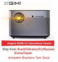 XGIMI H2 1920*1080 dlp проектор Full HD 1350 ANSI люмен 3D проектор Поддержка 4 K Android WIFI Bluetooth Бимер