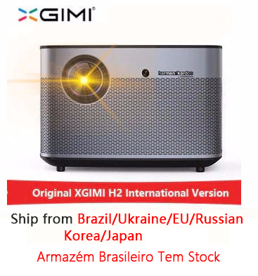 XGIMI H2 1920*1080 dlp projecteur Full HD 1350 ANSI lumens projecteur 3D prise en charge 4 K Android wifi Bluetooth projecteur