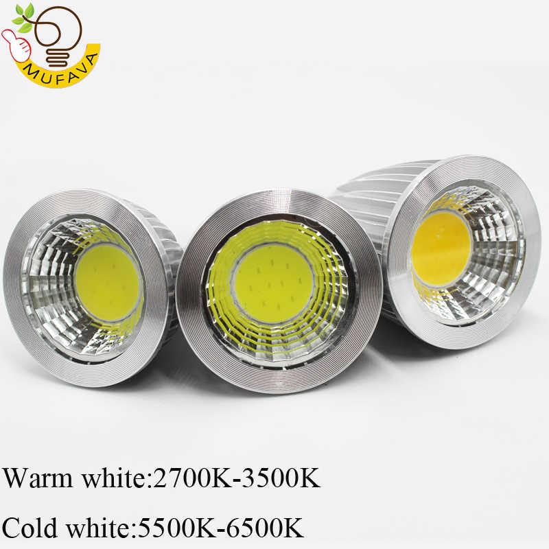 COB LED bombillas e14 led ランプ E27 電球 GU10 GU5.3 AC220V 9 ワット 12 ワット 15 ワット MR16 12 12v led ランパーダ家の装飾のためアンプル
