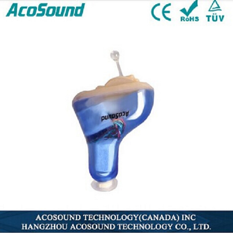 AcoSound Portable Listening Mini Digital Hearing Aid Ear Sound Amplifier In the Ear Hearing Amplifier Ear Aid 210IF-Plus ast new listening hearing aid programmable digital bte hearing aid free shipping ear sound amplifier hearing aid