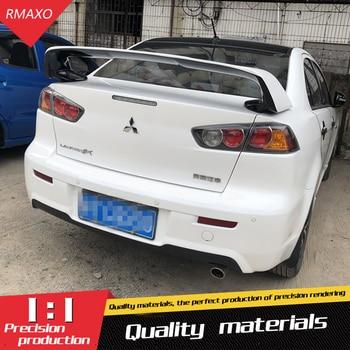 For Lancer Spoiler EVO 2010-2014 ABS Material Car Rear Wing Primer Color Rear Spoiler For Mitsubishi Lancer EVO Spoiler