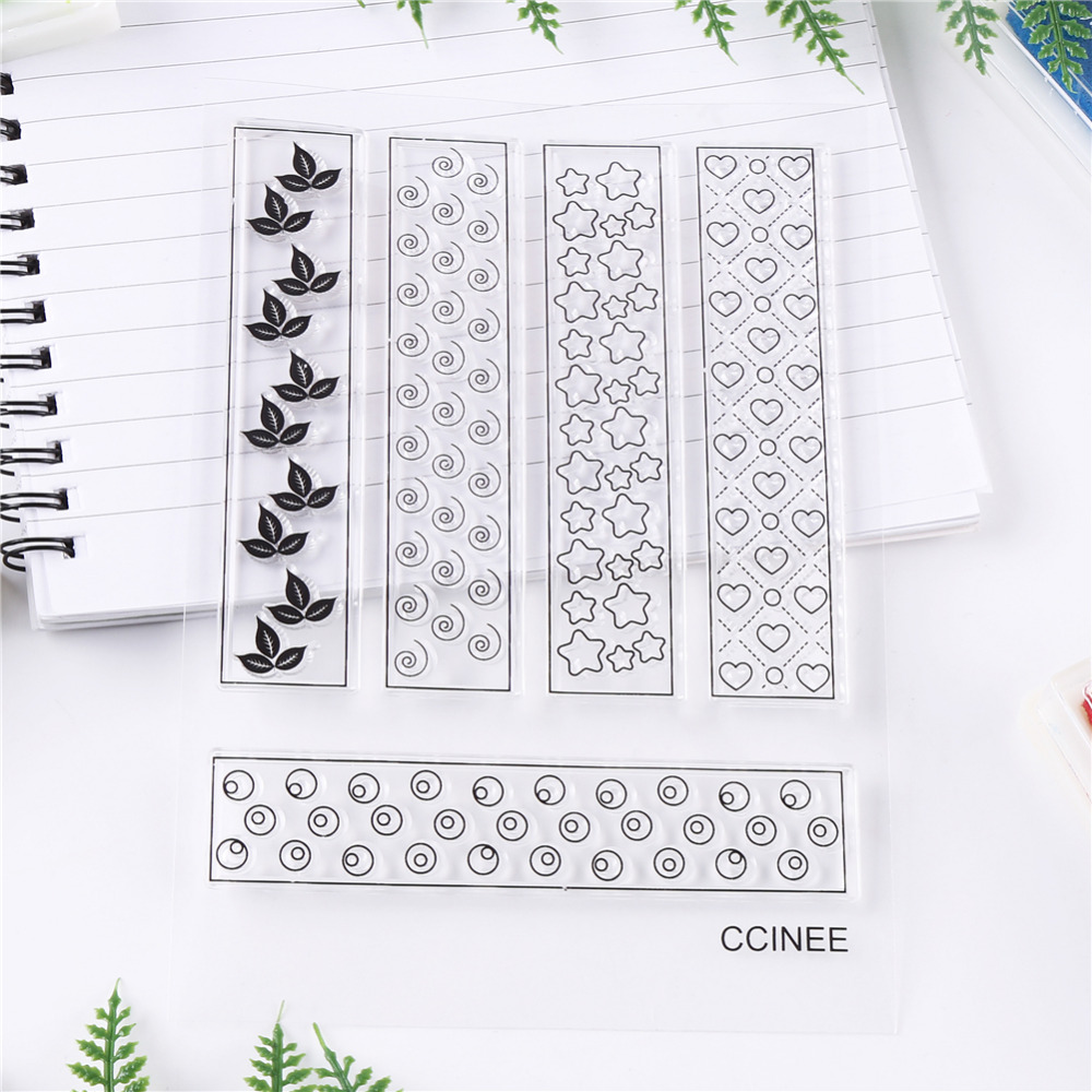 CCINEE 1PCS  Clear Transparent Stamp DIY Silicone Seals Scrapbooking Photo Album Decoration Supplies lovely animals and ballon design transparent clear silicone stamp for diy scrapbooking photo album clear stamp cl 278