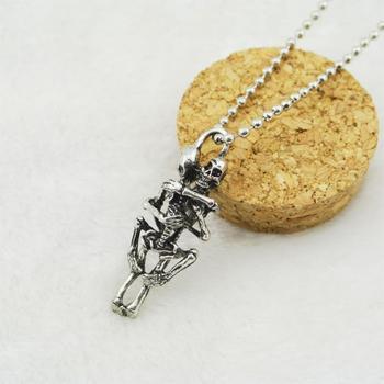 Infinity Love Skull Necklace 1